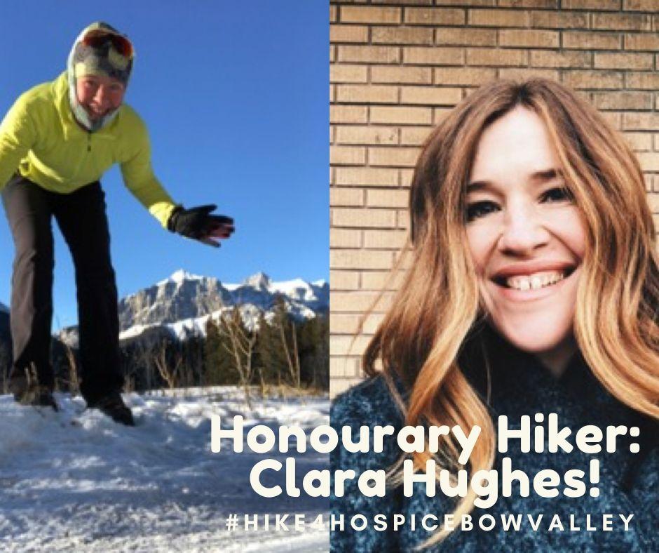 Celebrity Hiker Hughes FB
